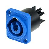 Neutrik PowerCON A-type Chassis Connector Blue NAC3MPA-1